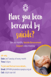 bereaved by suicide support