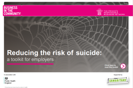 reducing the risk of suicide A toolkit for employers